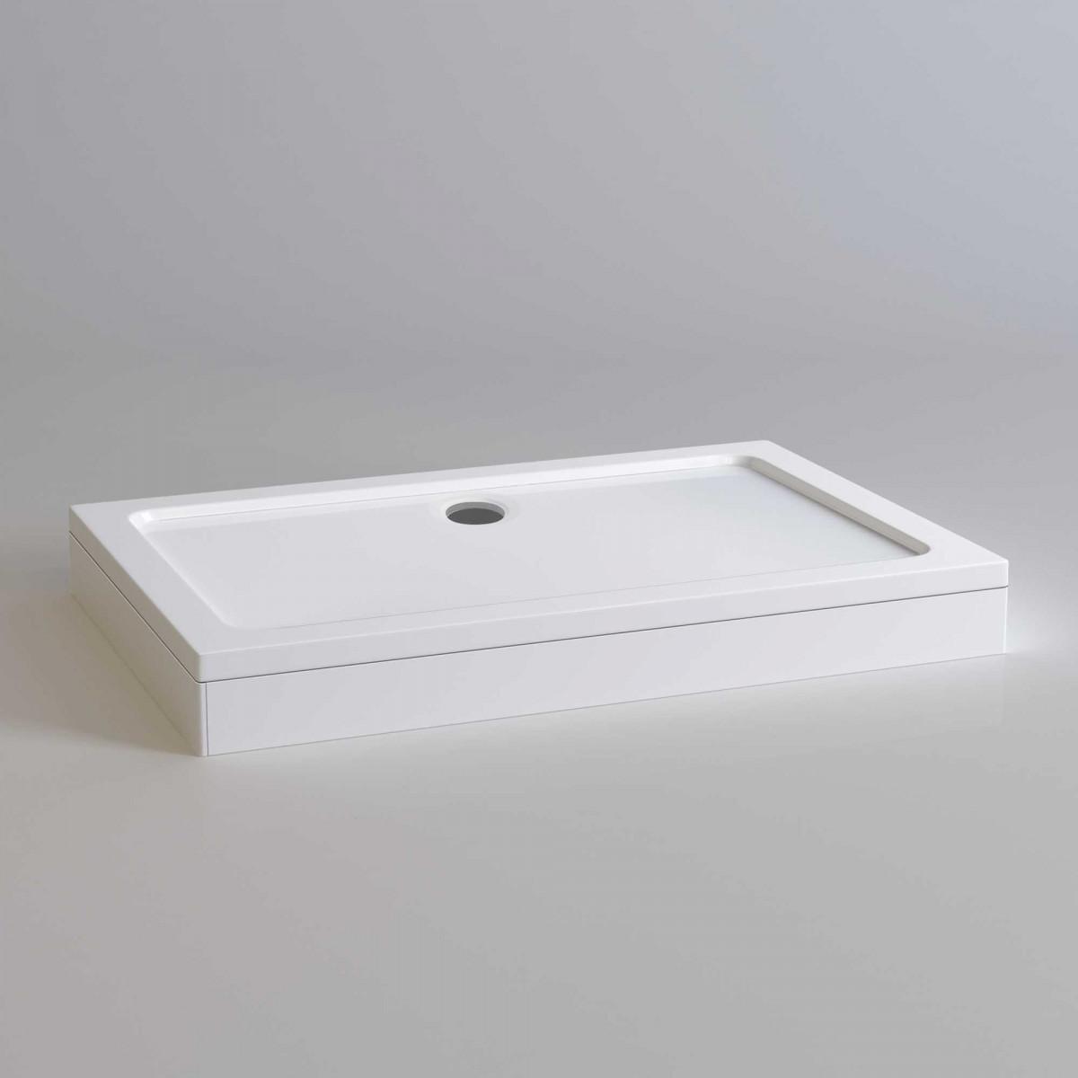 kartell rectangle shower tray 900 x 700mm krr0907l. Black Bedroom Furniture Sets. Home Design Ideas