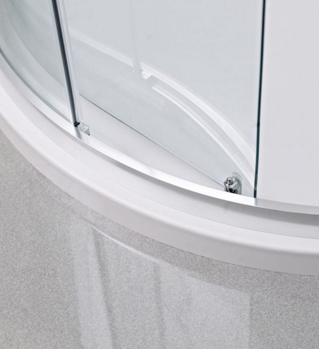 Roman Lumin8 One Door 800 X 1200 Offset Quadrant Shower