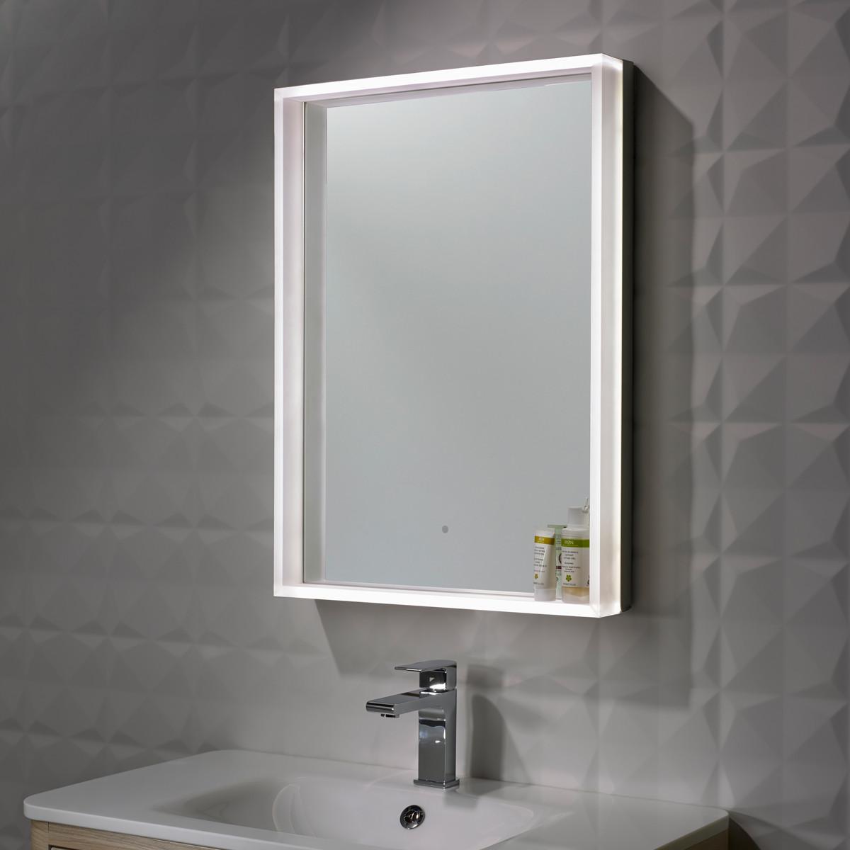 Led demister bathroom mirrors - Bathroom Mirrors Roper Rhodes Mirrors Roper Rhodes Aura Led