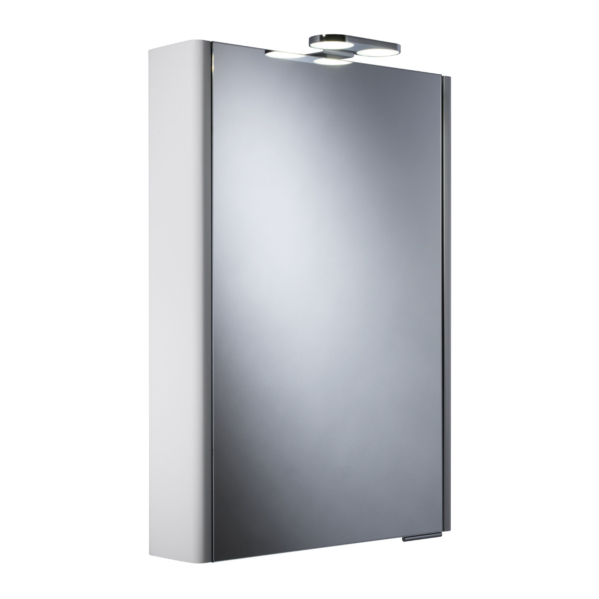 Roper Rhodes Definition Phase Illuminated Single Glass Door Cabinet
