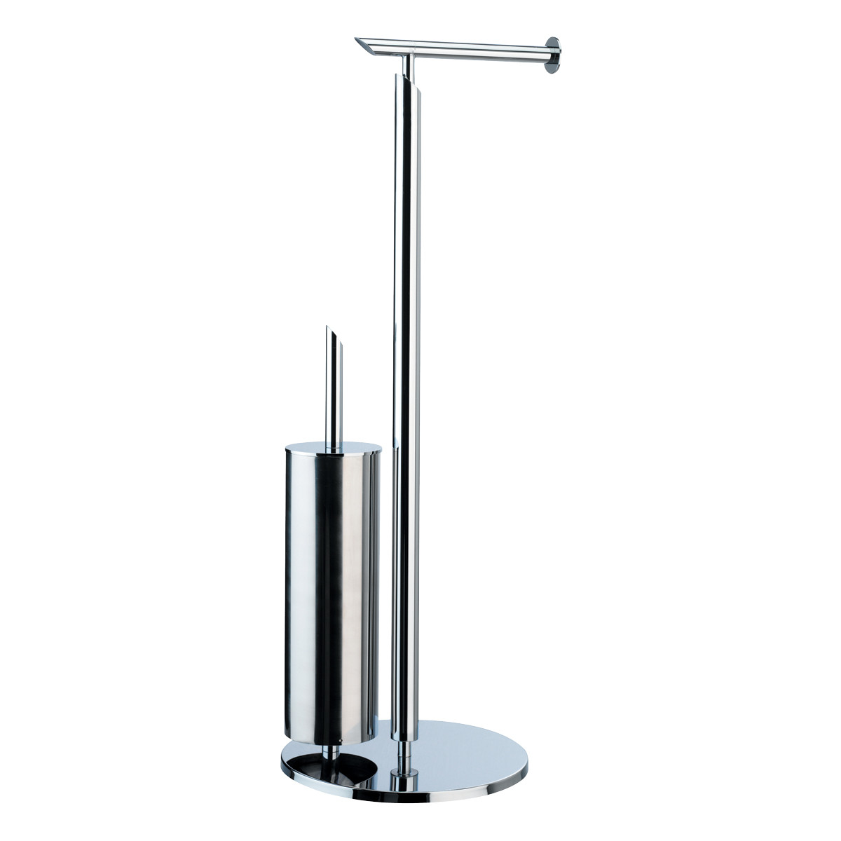 Degree Combined Freestanding Toilet Roll And Toilet Brush Holder