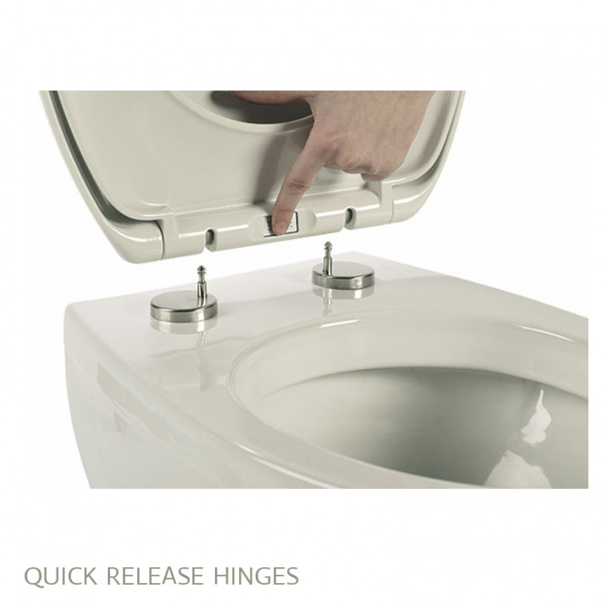 Roper Rhodes Elite Toilet Seat Soft Close Quick Release Hinges