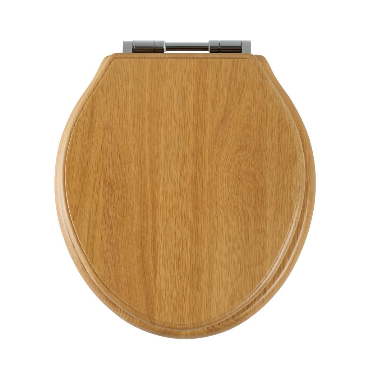 Roper Rhodes Greenwich Solid Wood Oak Soft Close Toilet