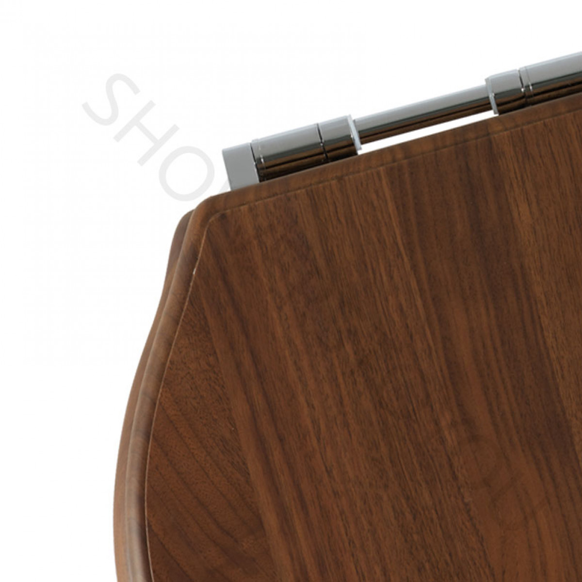 Roper Rhodes Greenwich Solid Wood Walnut Soft Close Toilet