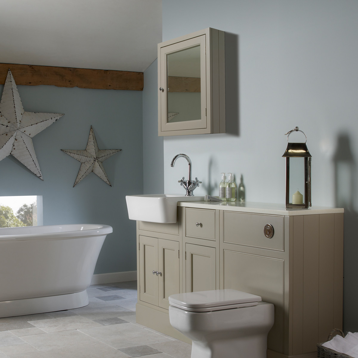 furniture roper rhodes hampton mocha 565mm bathroom cabinet