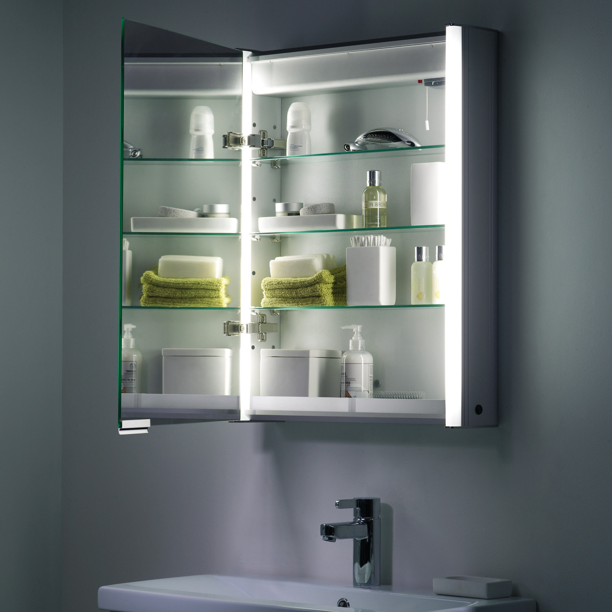 bathroom cabinets roper rhodes plateau illuminated bathroom cabinet