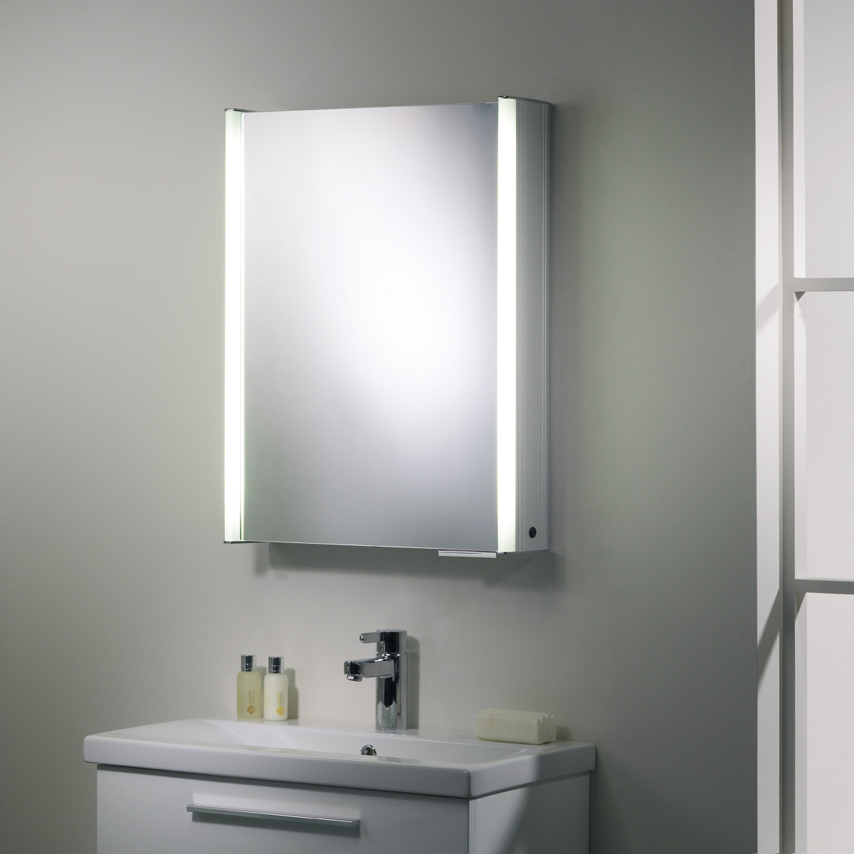 roper rhodes bathroom cabinets roper plateau white illuminated bathroom cabinet 25653