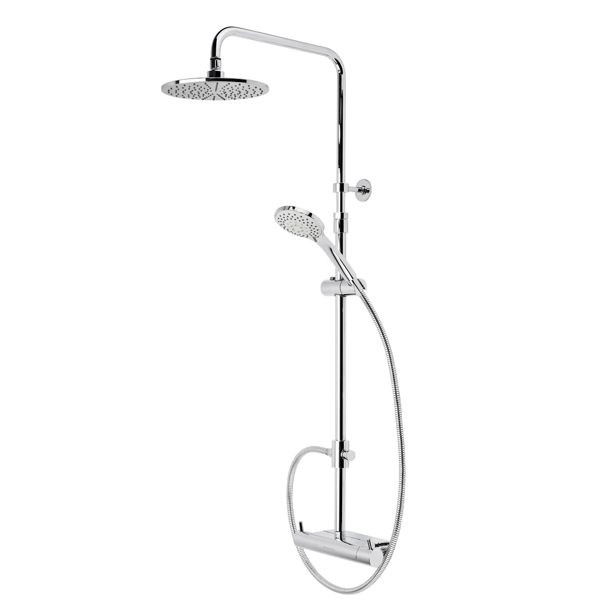 Roper Rhodes Storm Dual Function Exposed Shower System with ...