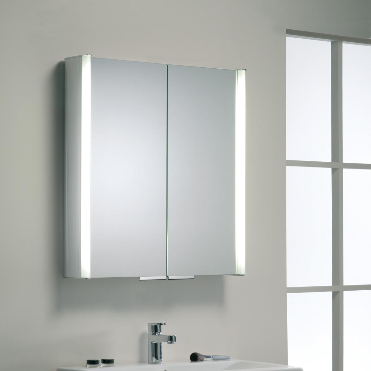 john lewis summit double door aluminium illuminated. Black Bedroom Furniture Sets. Home Design Ideas