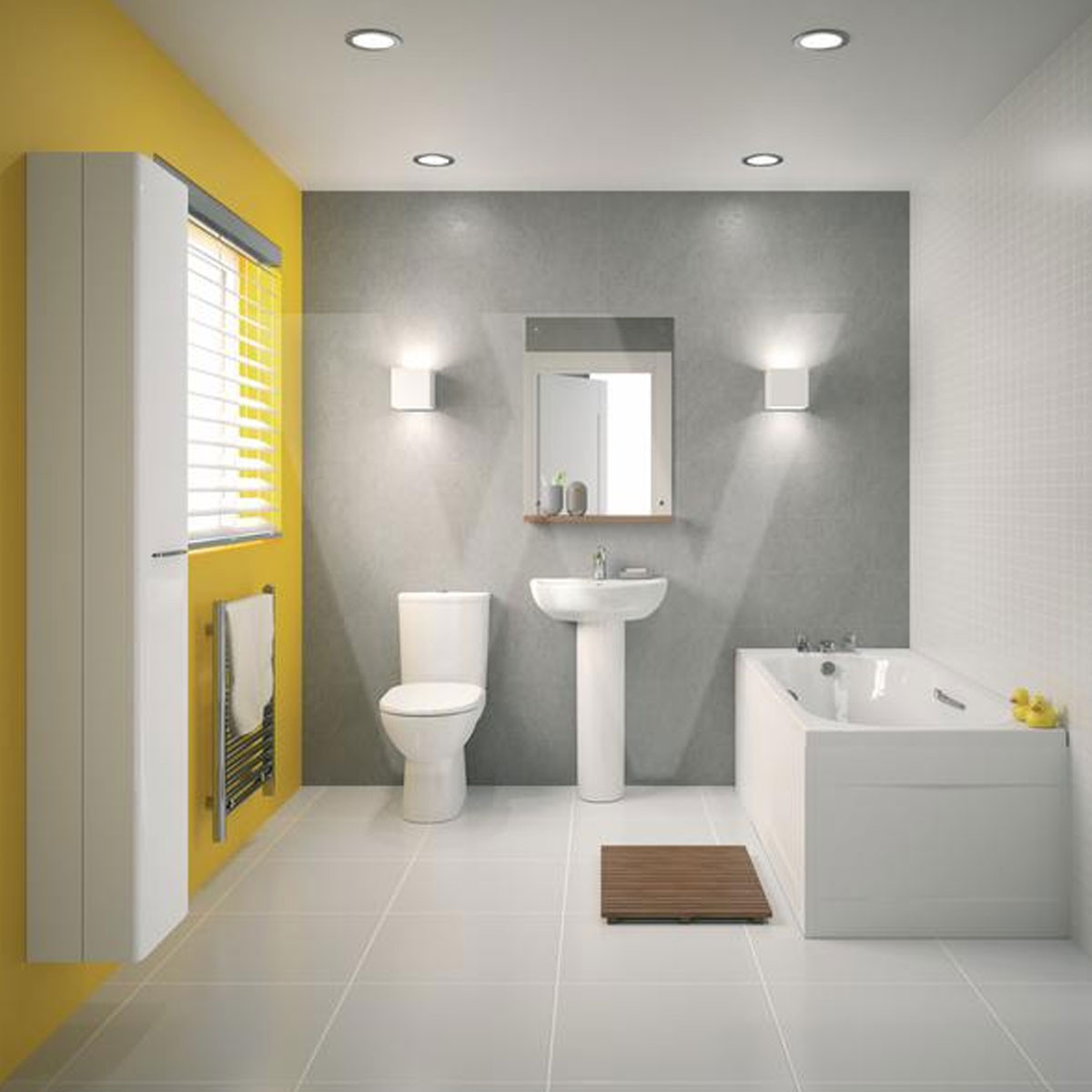 Twyford E100 Round Premium Toilet And Cistern With